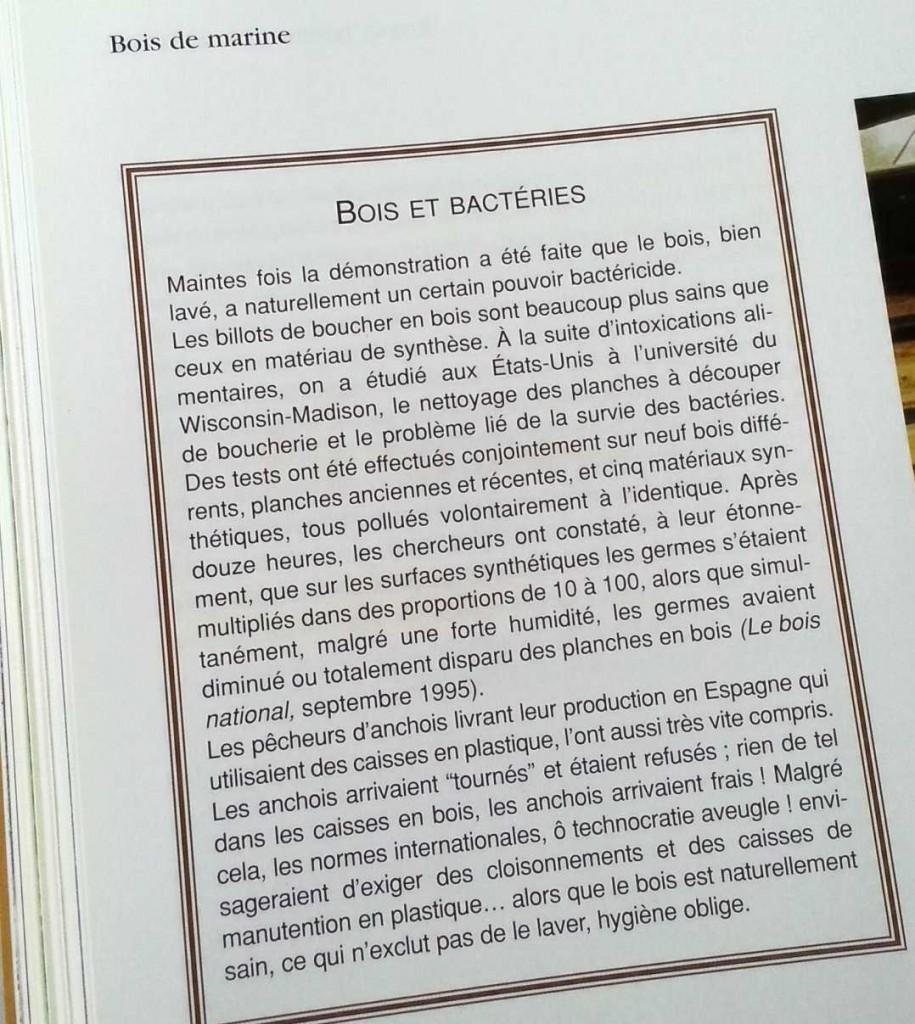 """Extrait de """"Bois de Marine"""" par Jean-Marie Ballu"""